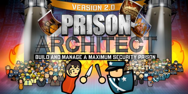 Prison Architect Updated for the Final Time