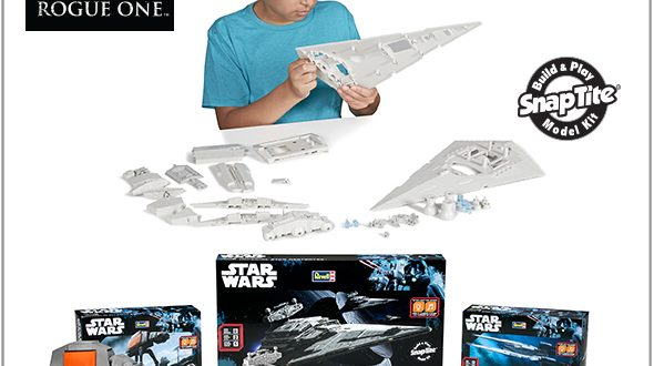 Revel announces trio of new Star Wars Rogue One models
