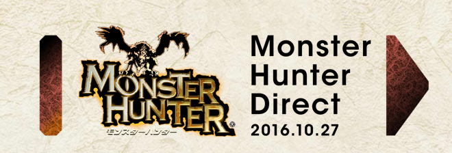Monster Hunter Direct Announced for October 27