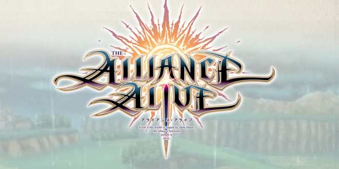 New JRPG The Alliance Alive Announced