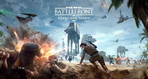 Get a look at Scarif in new Star Wars Battlefront trailer