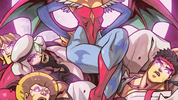 Street Fighters to battle Darkstalkers in new comic