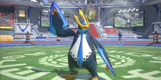 Empoleon Surfs into Pokken Tournament