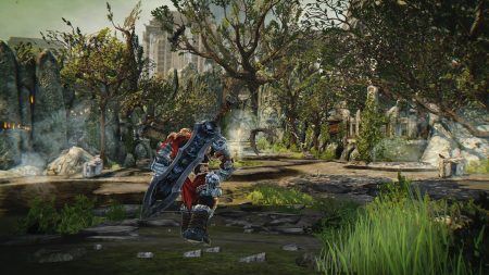 War on his journey in Darksiders: Warmastered Edition