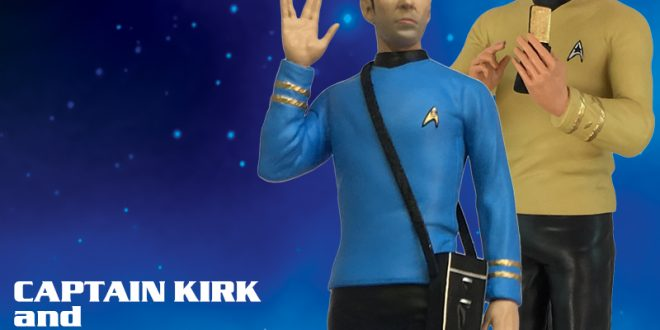 Beam up Icon Heroes classic Trek two pack later this month