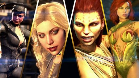Injustice 2 Here Comes The Girls