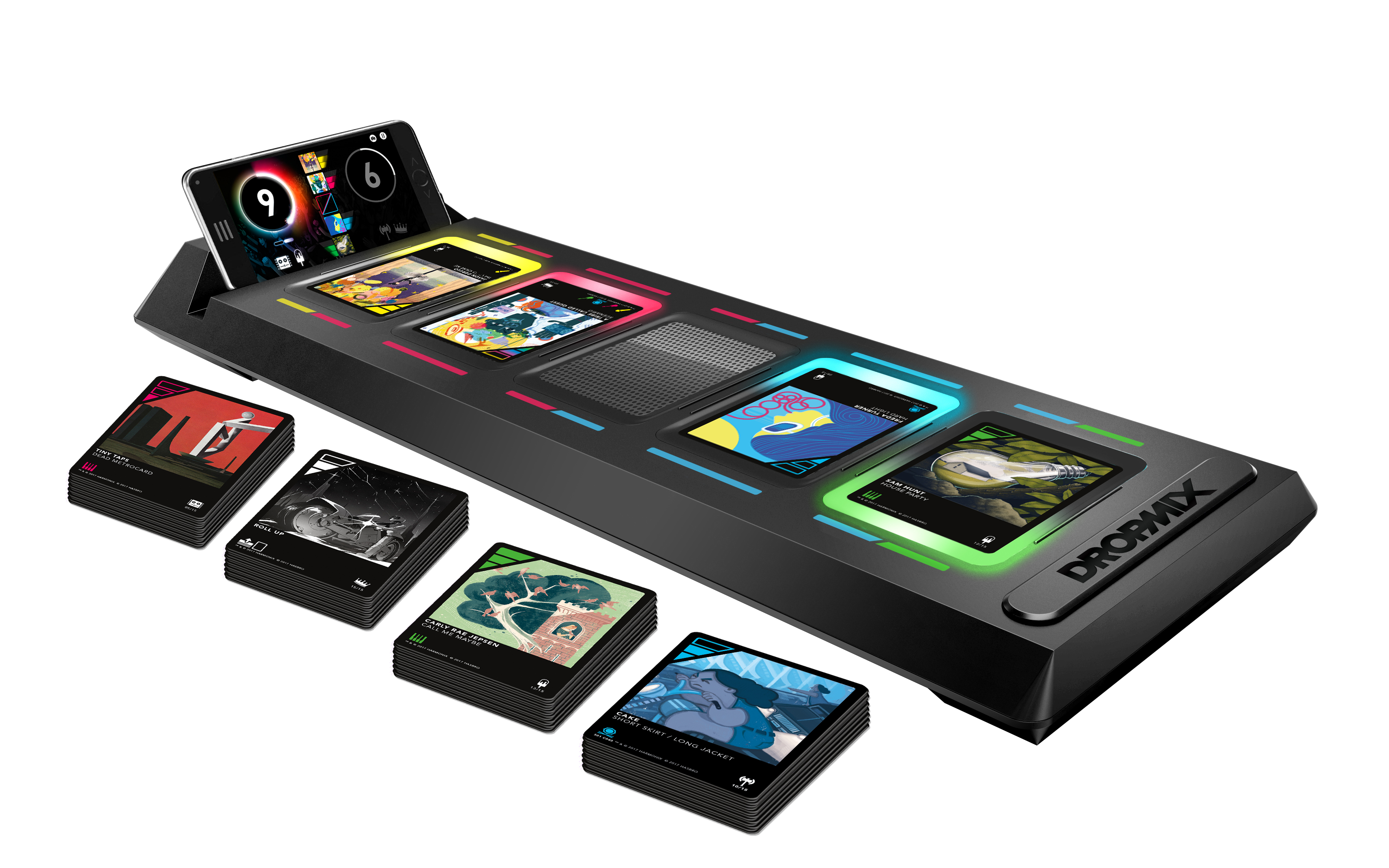 Hasbro teams with Harmonix for new music-mixing game Dropmix