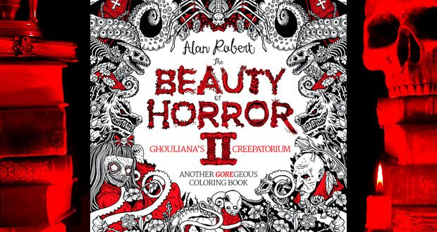 IDW preps sequel to the most beautifully Horror-able coloring book ever