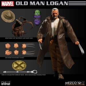 The Old Man Logan figure from Mezco Toyz.