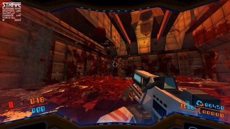 Strafe blood soaked level.