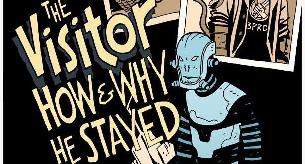 The Visitor: How And Why He Stayed #4 (comic) Review