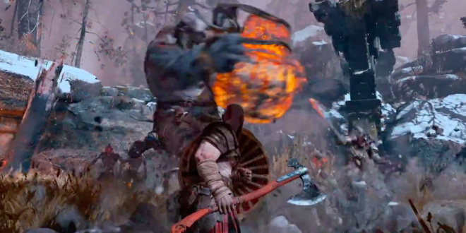 Sony unveils new God of War trailer