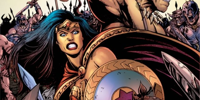 Wonder Woman meets Conan in new DC/Dark Horse collaboration