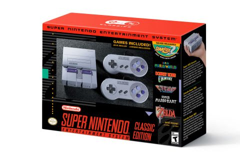 Nintendo Announces the Super NES Classic Edition