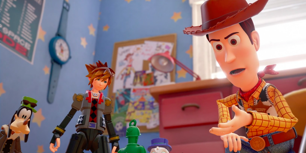 Kingdom Hearts 3 Receives New Toy Story World Gameplay Trailer