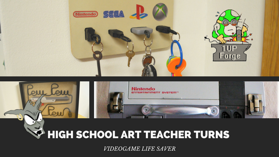 High School Art Teacher Turns Video Game Life Saver