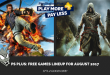 PS Plus: Free Games Lineup for August 2017