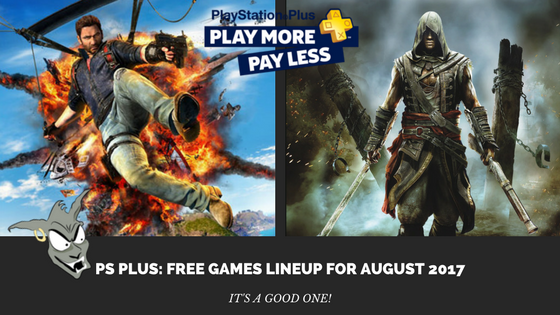 Ps4 Free Games August 2020.Ps Plus Free Games Lineup For August 2017 Brutal Gamer