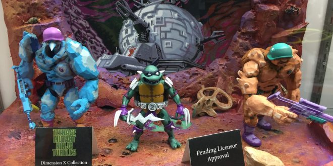 SDCC 2017: Stunning NECA unveils included new TMNT, Alien vs Predator arcade game