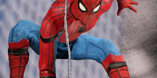 Homecoming Spidey joins Mezco's One:12, goes up for pre-order