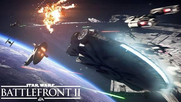 At last – get a look at starfighter combat in Star Wars Battlefront II
