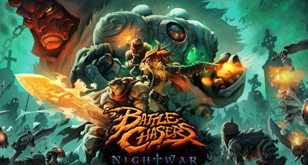Knolan brings his arcane magic to Battle Chasers: Nightwar
