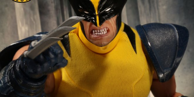 Reminder: Mezco's blue and yellow Wolverine exclusive goes on pre-order tomorrow