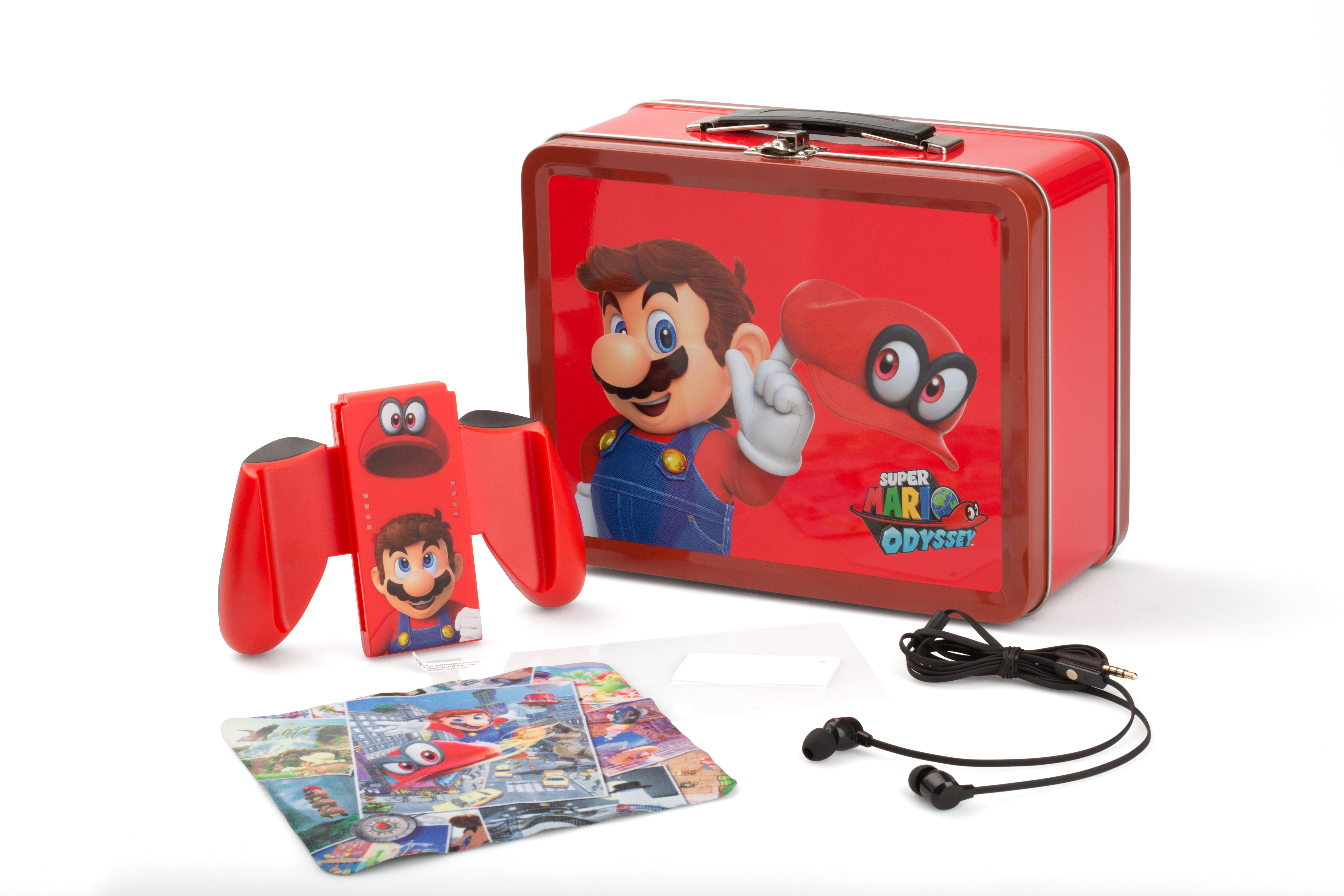 nintendo switch collectible lunchbox kit super mario