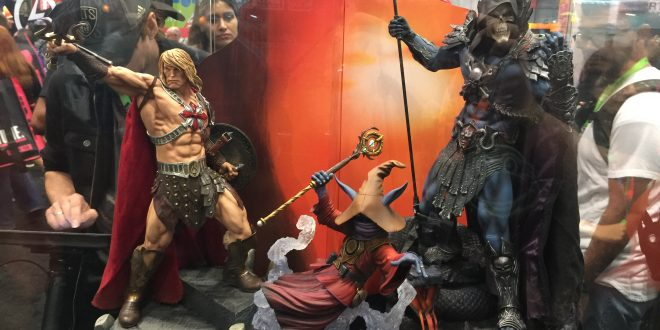 NYCC 2017: Sideshow booth tour includes MOTU, DC, Marvel, Star Wars