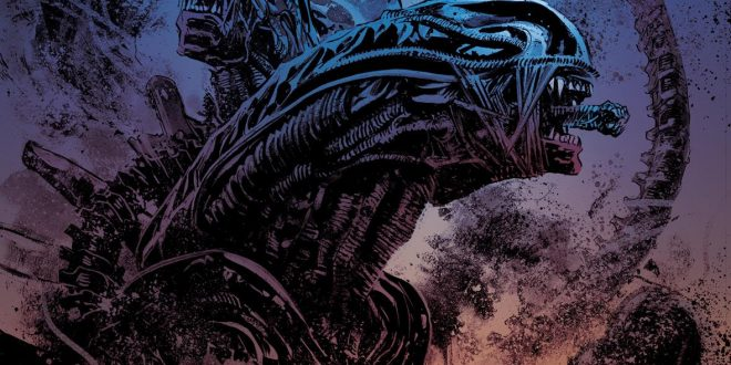 Dark Horse recalls a classic film in its newest horror mini-series Aliens: Dust to Dust