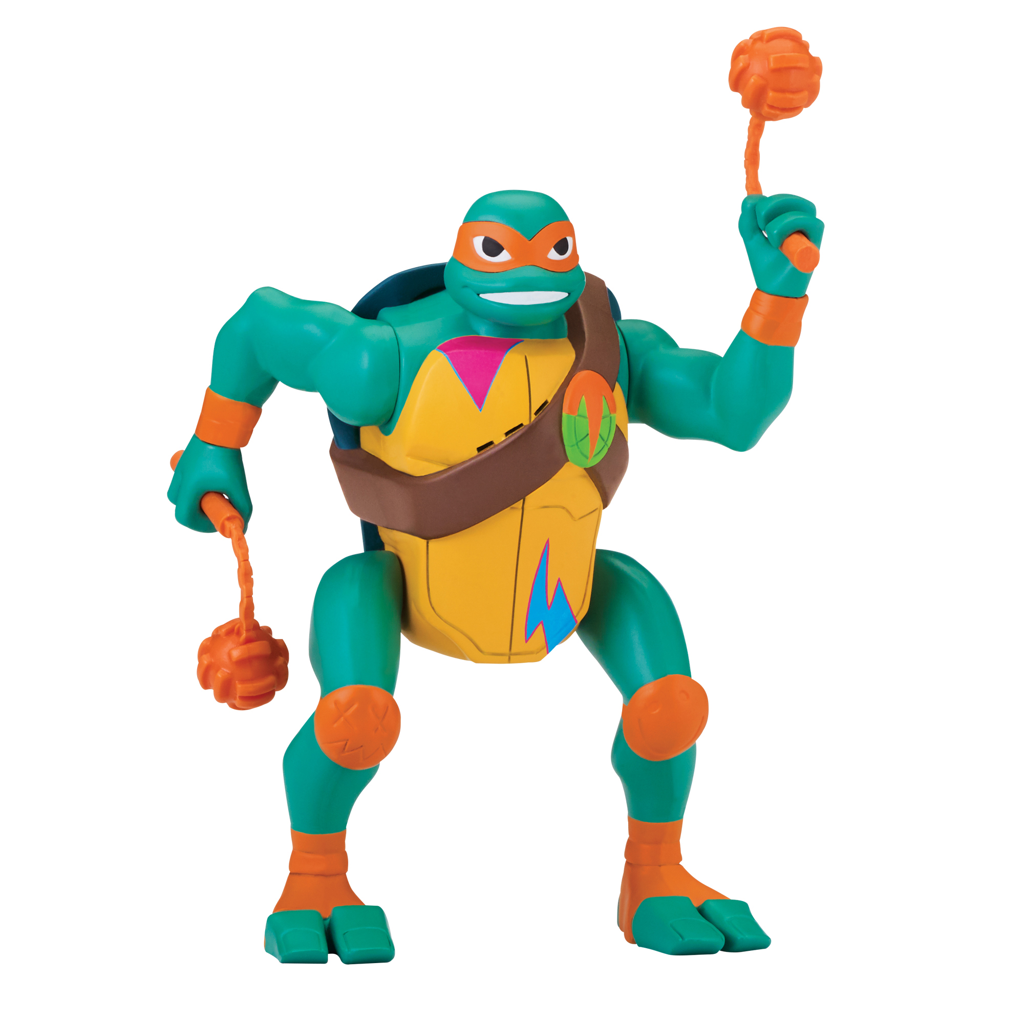 rise of the tmnt toy fair 2018 mikey brutal gamer