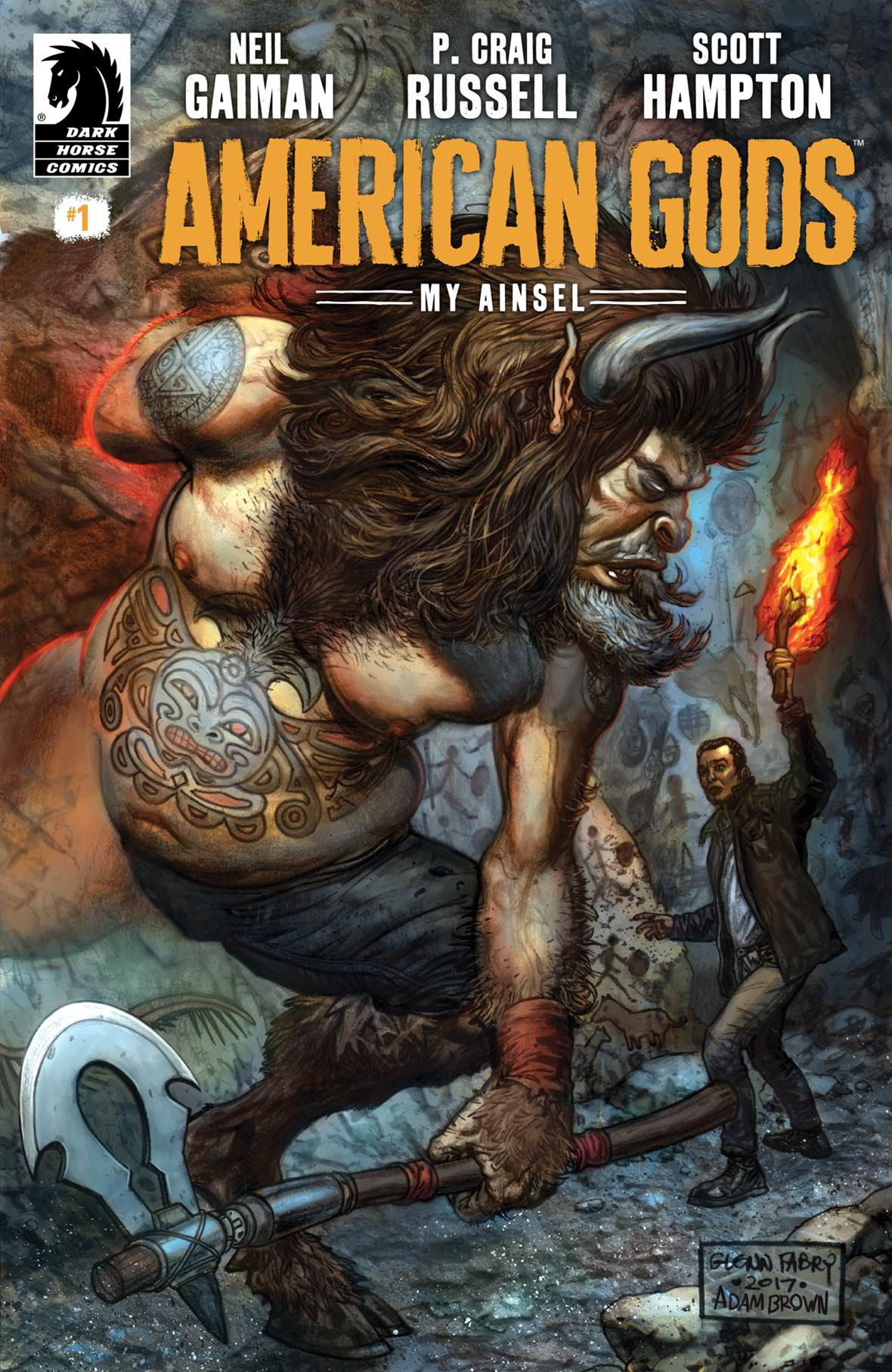 american gods  my ainsel  1  comics  preview