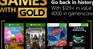 April Games with Gold