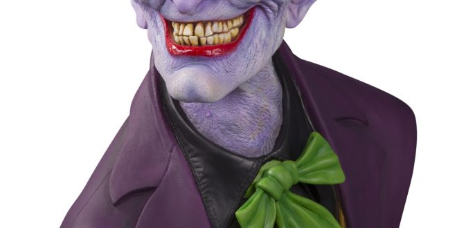 Ultimate version of Rick Baker's DC Comics Joker bust on the way