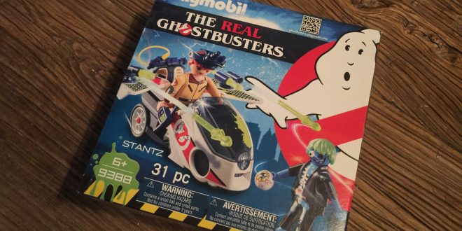 Playmobil The Real Ghostbusters Ray Stantz Skybike (Toy) Review