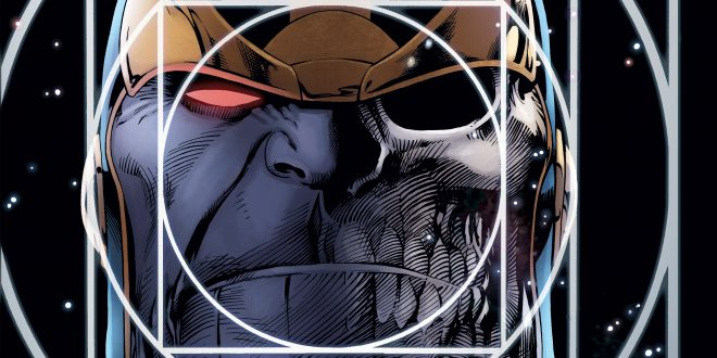 Starlin and Davis' Thanos graphic novel saga continues this fall with Infinity Conflict