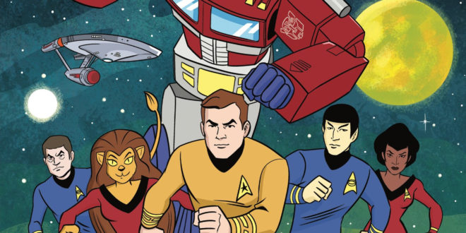 Classic Star Trek meets Transformers in new IDW mini-series