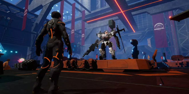 Daemon X Machina Brings Swift Mech Action to Nintendo Switch in 2019
