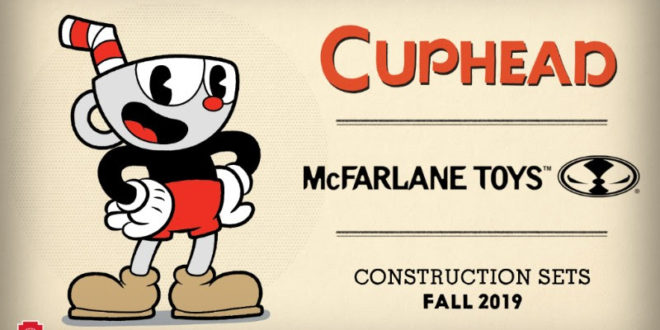 SDCC 2018: McFarlane to build new series of Cuphead construction sets