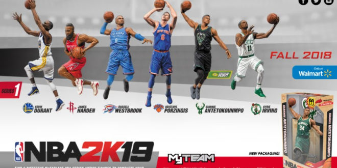 McFarlane Toys inks deal with 2K Games for new NBA figure line