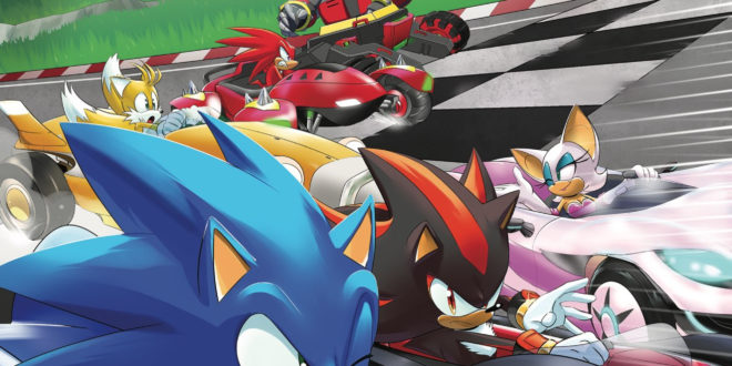 SDCC 2018: Team Sonic Racing comic coming this year from IDW