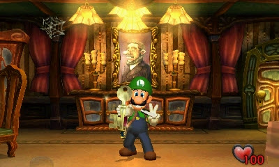 Luigi's Mansion scares up a release date for 3DS, haunts the console October
