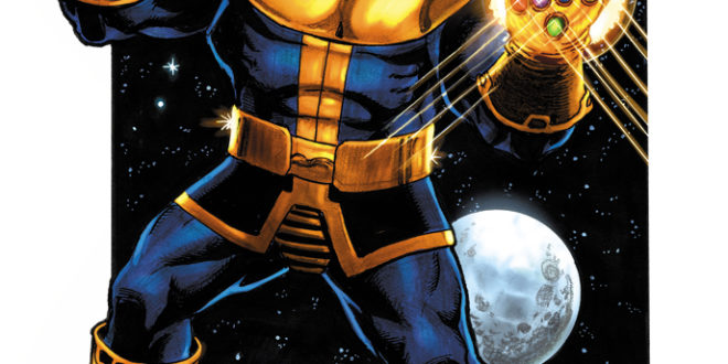 George Perez' Thanos Legacy #1 artwork revealed today by Marvel