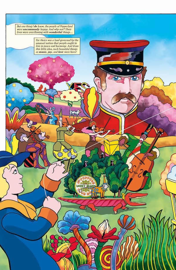 The Beatles Yellow Submarine (Graphic Novel) Review ...