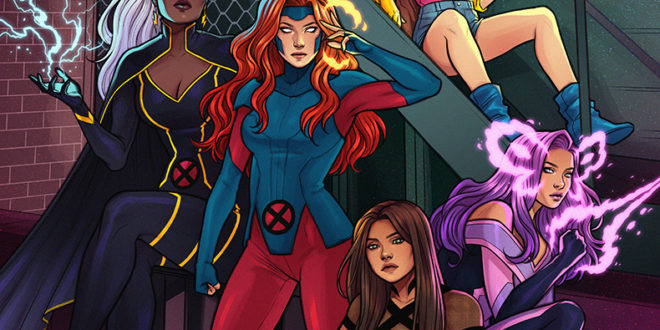 Marvel reveals first variant cover for Uncanny X-Men #1
