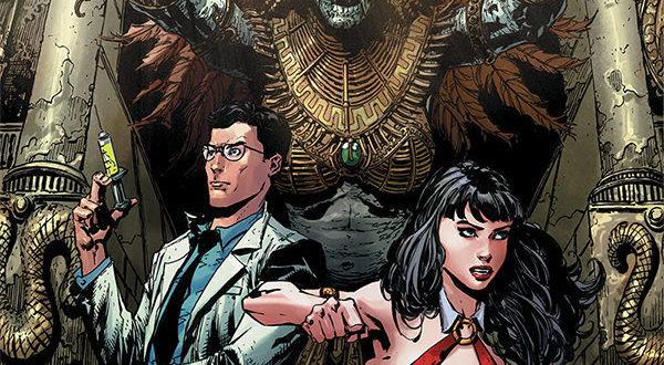It's Vampirella vs. ReAnimator in Dynamite Comics' latest crossover book