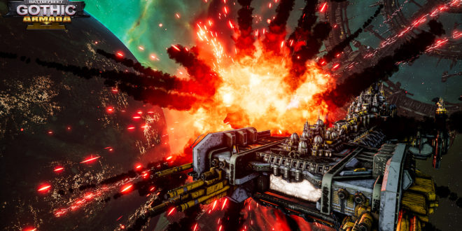 Release date and pre-order betas announced for Battlefleet Gothic Armada 2