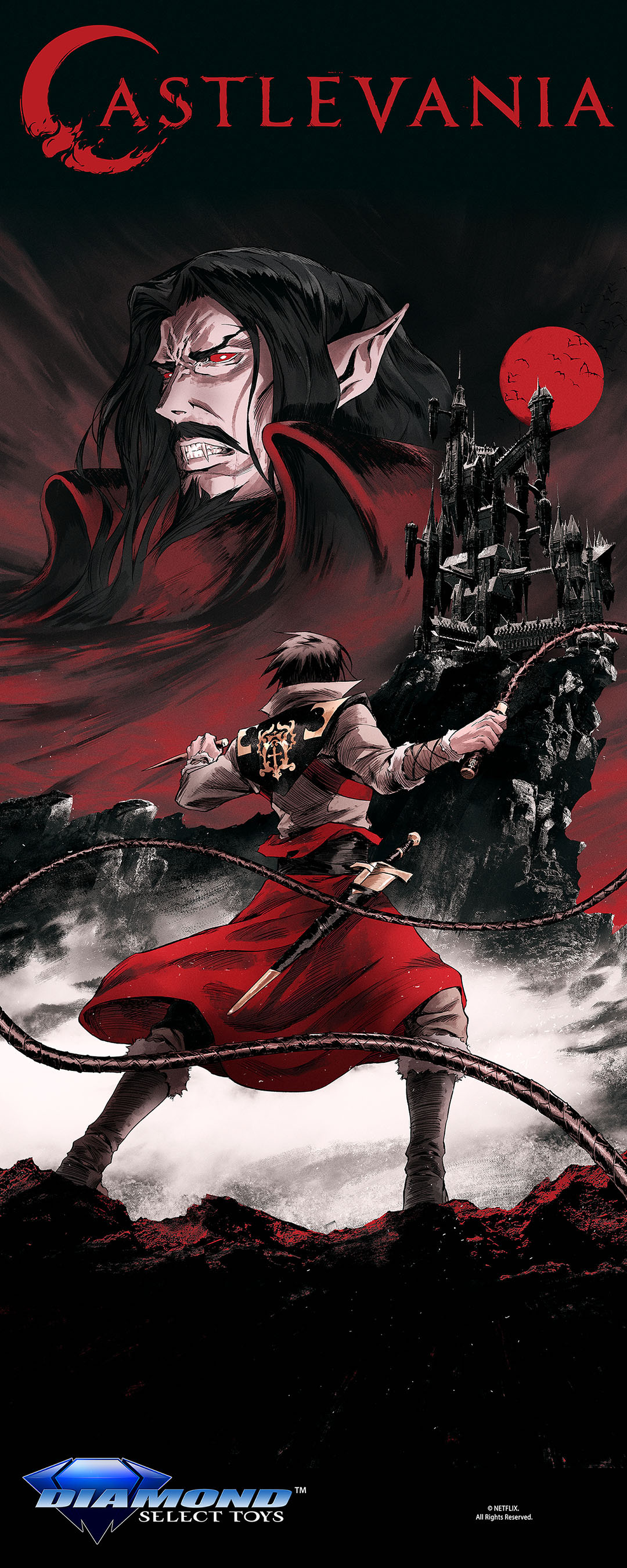 Diamond Select nabs the license for Netflix' Castlevania