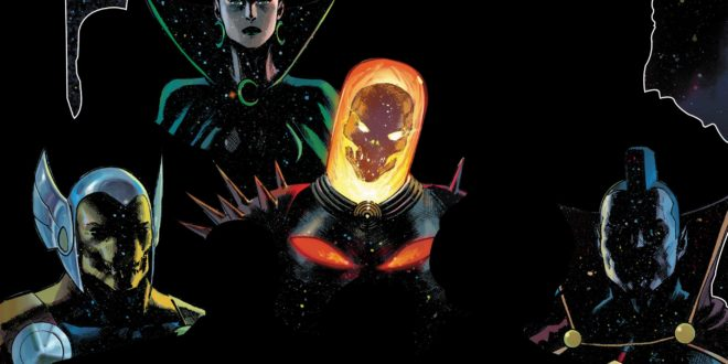 Marvel slowly reveals its new Guardians of the Galaxy team