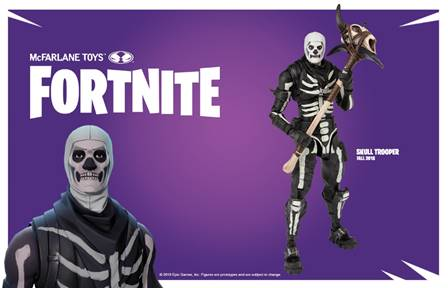 Fortnite Explodes At Mcfarlane Toys With Action Figures And More